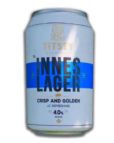 Innes Lager - Titsey Brewing Surrey